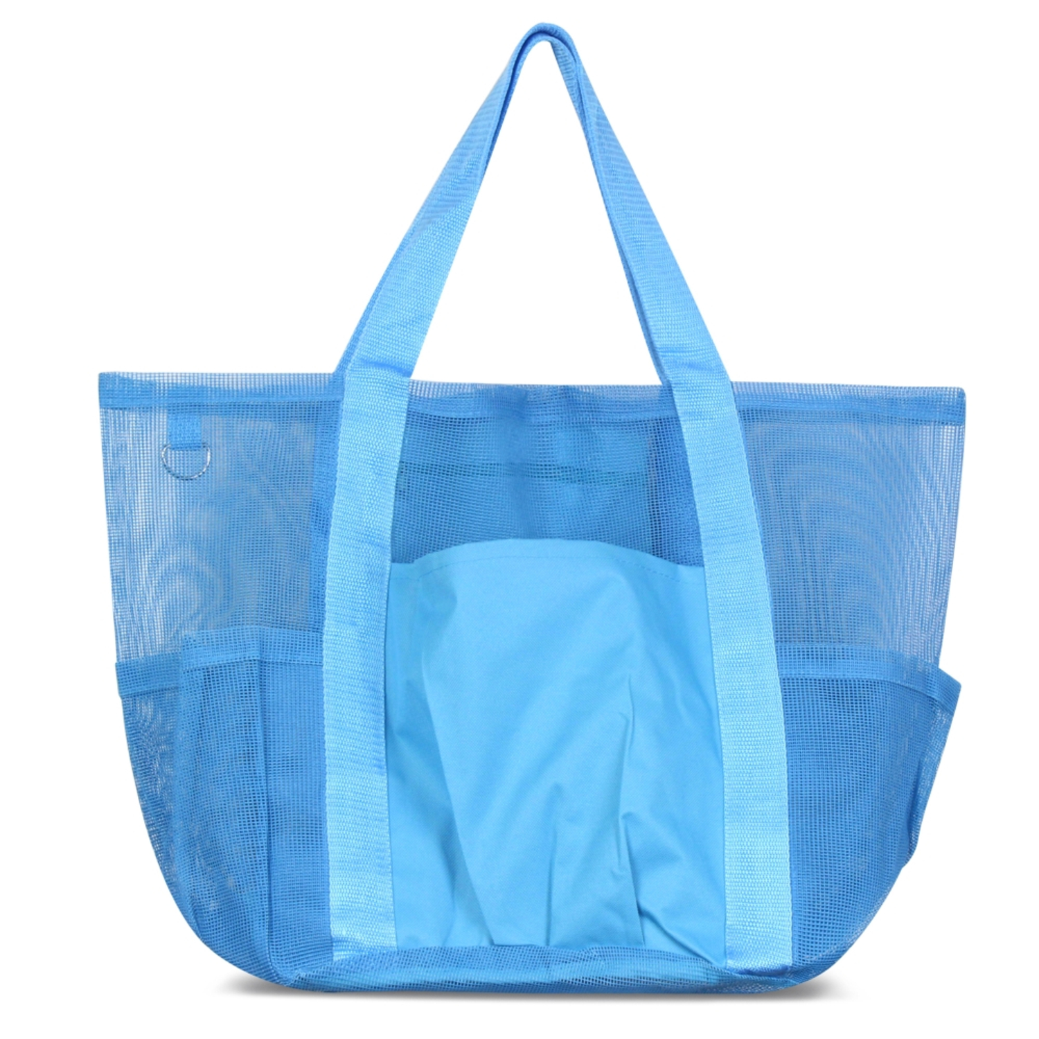 Zodaca Women All Purpose Mesh See Through Tote Carry Bag Handbag for Beach Laundry Grocery Shopping