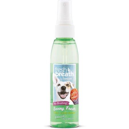 Fresh Breath by TropiClean Berry Fresh Oral Care Spray, 4 Oz