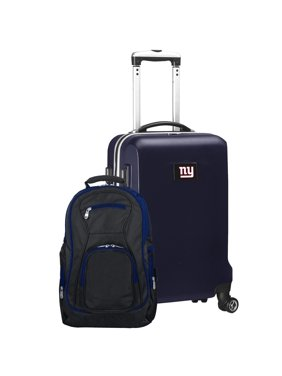 New York Giants 2-Piece Backpack & Carry-On Set - Navy