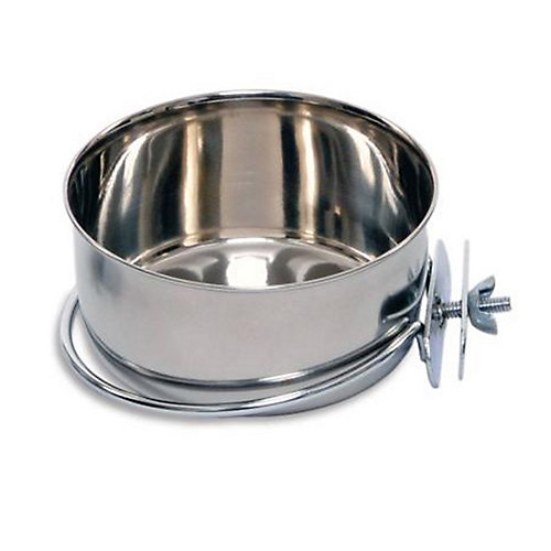 Indipets Stainless Steel Clamp-On Coop Cup 96 OZ