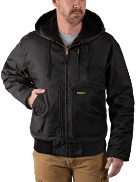 Walls Men's Insulated Flex Duck Hooded Jacket