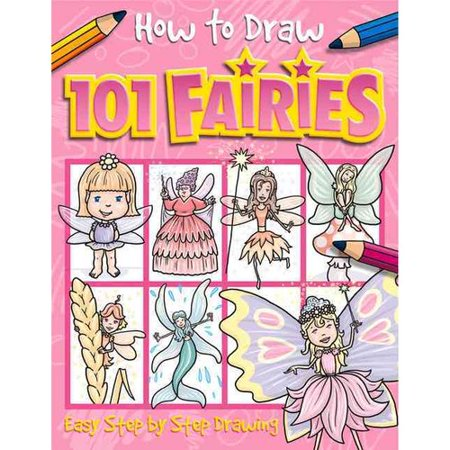 How To Draw 101 Fairies  Easy Step By Step Drawing