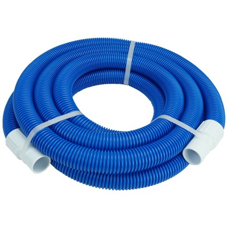 Standard Pool Vacuum Hose (Pool Central Blow-Molded PE In-Ground Swimming Pool Vacuum Hose with Swivel Cuff 18' x 1.25
