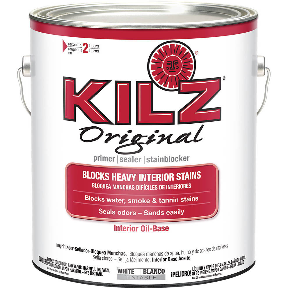 KILZ Original Oil-Based Primer, 1 gal