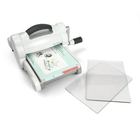 Sizzix Big Shot Machine Only (White & Gray)(US (Big Shot Machine Best Price)