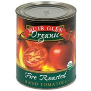 Muir Glen Fire-Roasted Diced Tomatoes, 28 oz (Pack of 12)