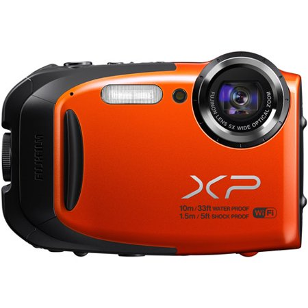 Fuji Finepix Xp70  Digital Camera Orange
