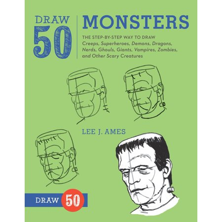 Draw 50 Monsters : The Step-by-Step Way to Draw Creeps, Superheroes, Demons, Dragons, Nerds, Ghouls, Giants, Vampires, Zombies, and Other Scary - Scary Zombie Baby