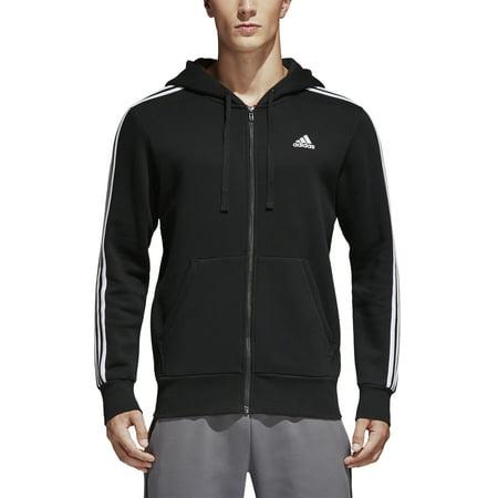 Adidas Men's Essentials Full-Zip Brushed Fleece Hoodie Color Choice CF5056