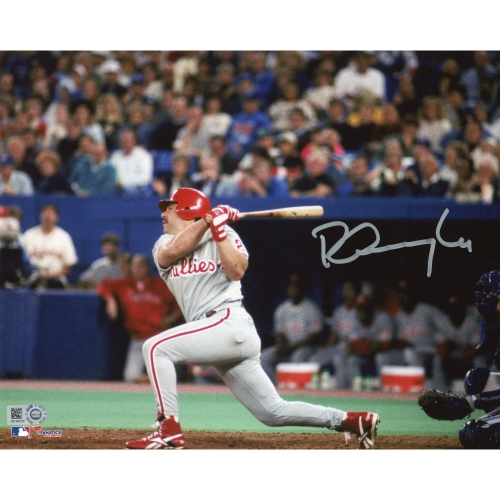 "Pete Incaviglia Philadelphia Phillies Fanatics Authentic Autographed 8"" x 10"" Follow Through Swing Photograph - No Size"