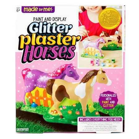 Plaster Casting Kit - Horizon Group Made by Me Plaster Horses, 1 Each
