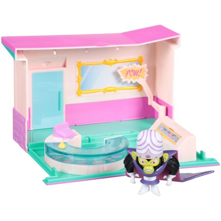 The Powerpuff Girls, Mojo Jojo Jewelry Store Heist Playset, by Spin - Mojo Jojo Costume