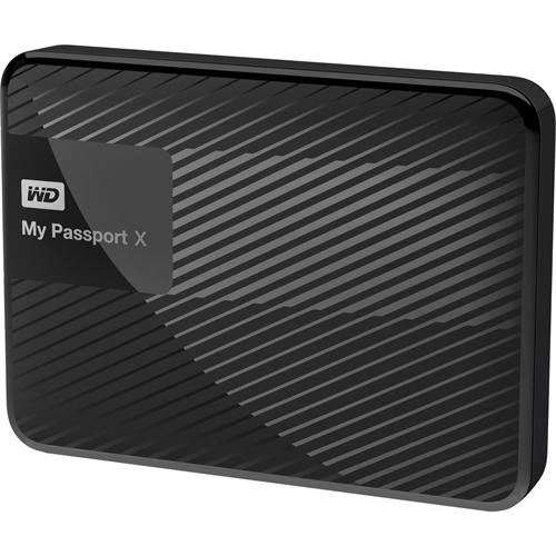 Western Digital My Passport X 3 TB External Hard Drive WDBCRM0030BBK-NESN