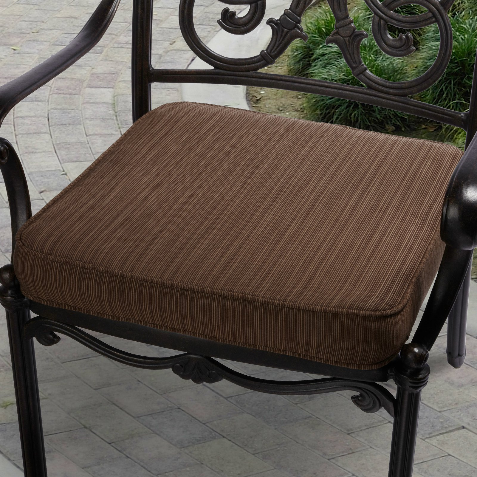Mozaic Company Sunbrella Corded Indoor/Outdoor Chair Cushion