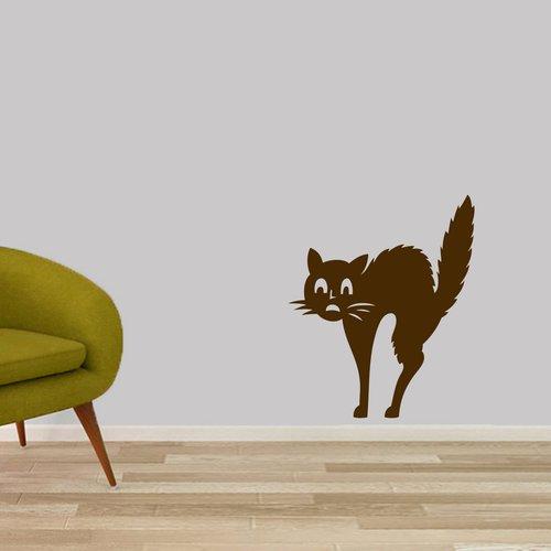 Winston Porter Scaredy-Cat Wall Decal