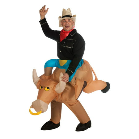 Infl Bull Rider Adult Halloween Costume - Flynn Rider Costume For Adults
