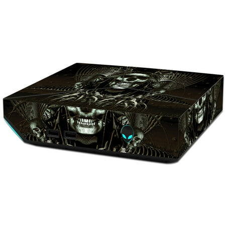 MightySkins Skin Decal Wrap Compatible with Alienware Sticker Protective Cover 100's of Color (Super Scale Wood)