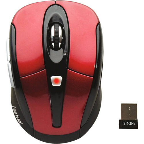 Gear Head 2.4 Wireless Optical Nano Mouse