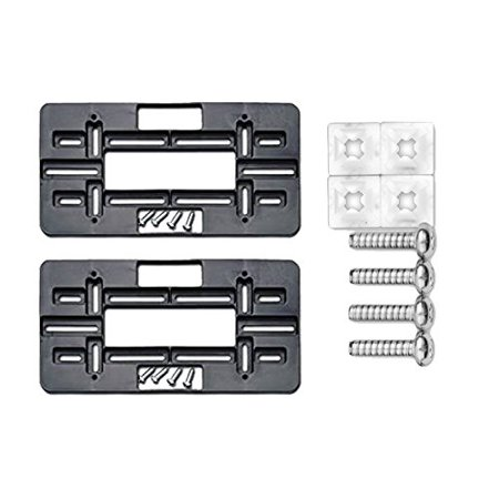- Cruiser Accessories 79150 Mounting Plate, Black Bundle with Standard Fasteners for Domestic Vehicles (3 Items)