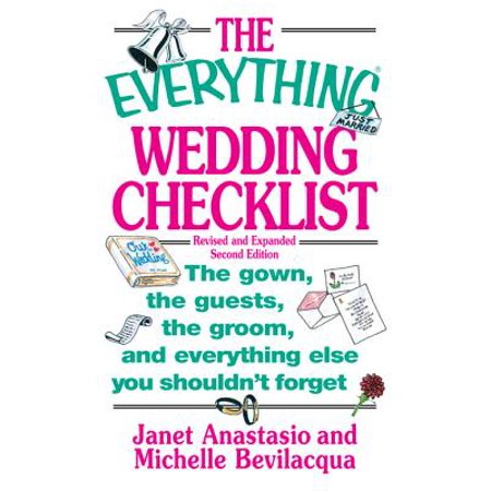 The Everything Wedding Checklist - eBook](Wedding Items Checklist)
