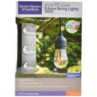 Better Homes&gardens Bhg 12 Count Led Edison Sring Lights