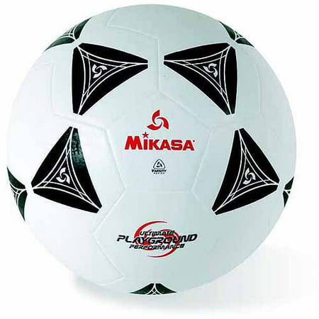 Mikasa Rubber Soccer Ball, Size 5, Black and - Rubber Soccer Ball