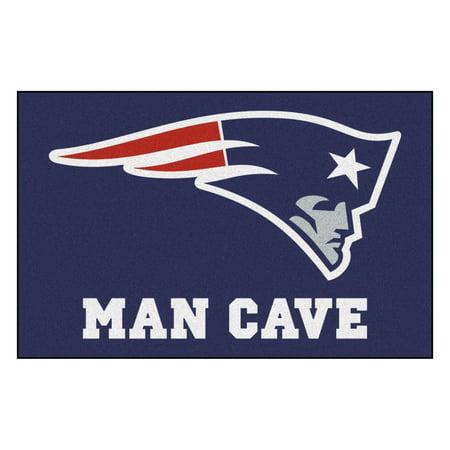 "NFL - New England Patriots Man Cave Starter Rug 19""x30"""