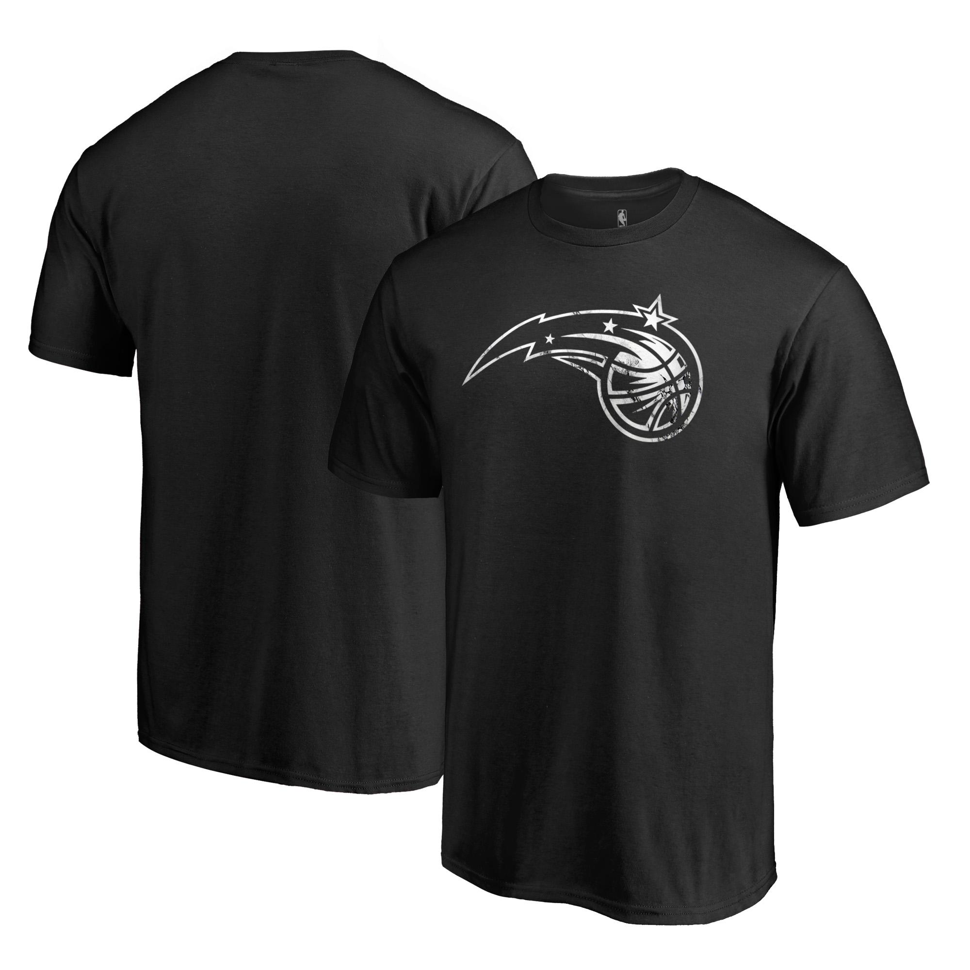 Orlando Magic Fanatics Branded Marble Logo Big & Tall T-Shirt - Black