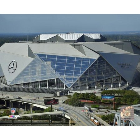 Mercedes-Benz Stadium 2017 Photo Print - Halloween Nyc 2017 Photos