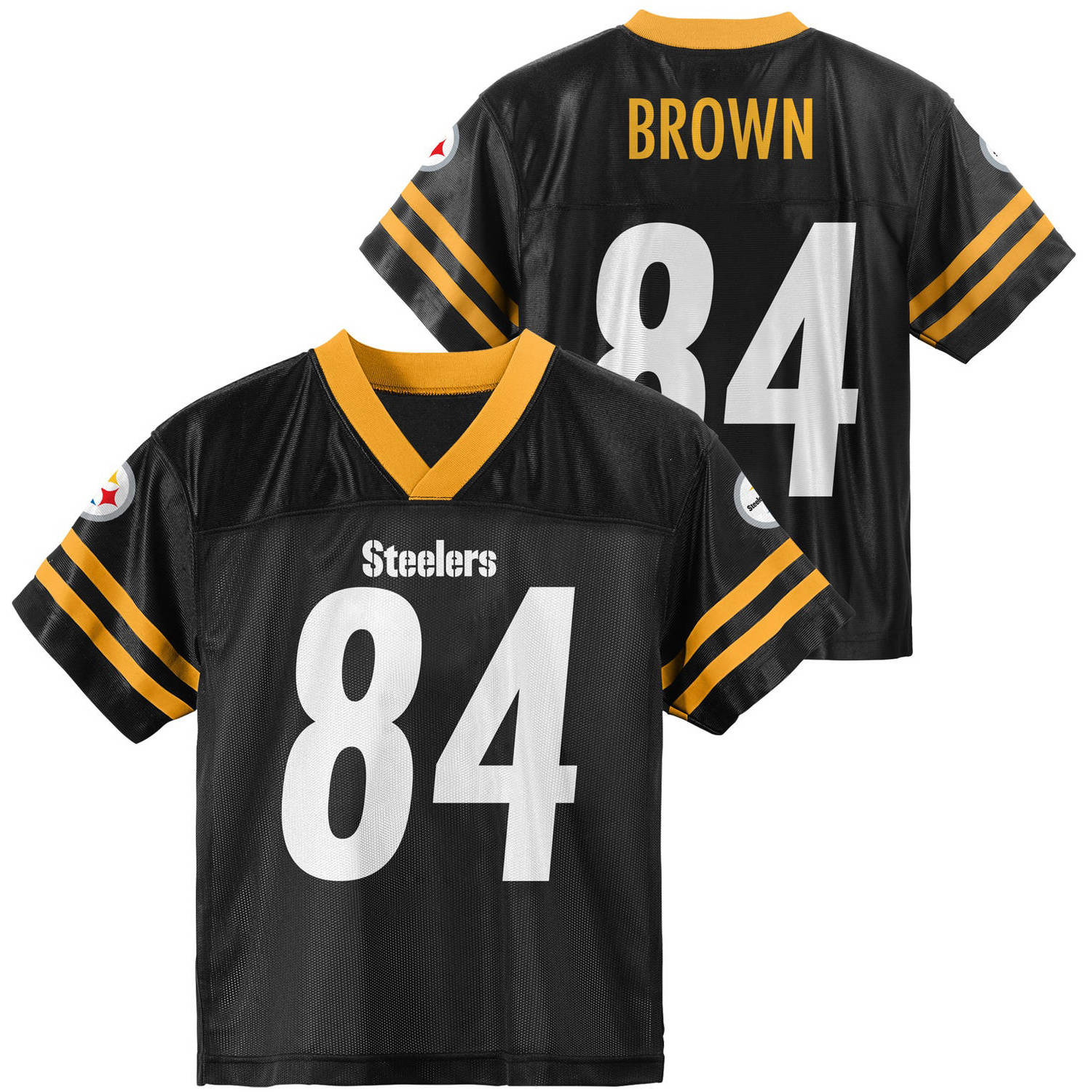 NFL Pittsburgh Steelers Youth Antonio Brown Jersey - Walmart.com 5e5365628