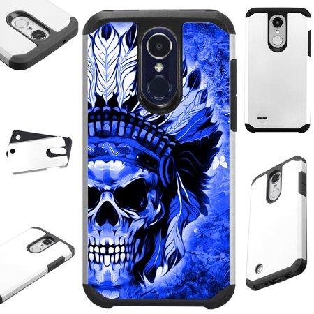 the best attitude 05138 7ce13 FusionGuard Phone Case Cover For LG Stylo 4 | Stylo 4 Plus | Q Stylus Q  Plus Q Alpha (Blue Skull Chief)
