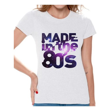 Awkward Styles Made in 80s T Shirt 80s Birthday Shirt 80s Accessories 80s Rock T Shirt 80s T Shirt Retro Vintage Rock Concert T-Shirt 80s Costume 80s Clothes for Women 80s Outfit 80s Party ()