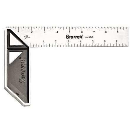 STARRETT K53-8-N Stainless Carpenters Try Square, 8