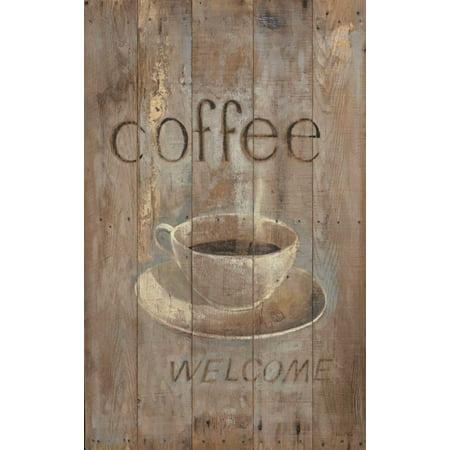 Arnie Fisk Stretched Canvas Art - Cuban Coffee - Large 24 x 36 inch ...