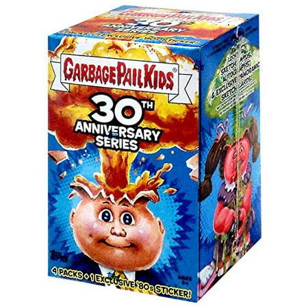 Halloween Garbage Pail Kids (Garbage Pail Kids 2015 30th Anniversary Garbage Pail Kids Trading Card Blaster Box, Garbage Pail Kids 30th Blaster Box By Topp Ship from)