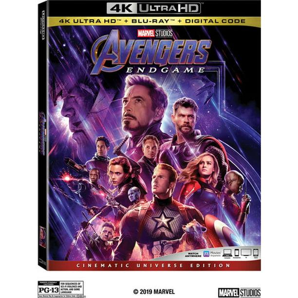 Avengers Endgame 4k Ultra Hd Blu Ray Walmart Com Walmart Com