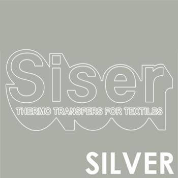Siser Easyweed Silver Iron Heat Transfer Vinyl Roll HTV (Choose Your Size)