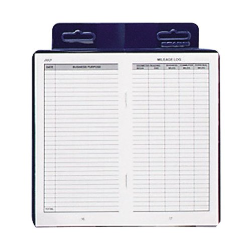 DOM771 Dome Publishing Deluxe Auto Mileage Log Book, Contains 12 monthly forms, monthly and yearly summaries... by