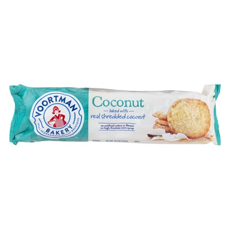 Voortman Bakery Cookies Coconut, 12.3 OZ