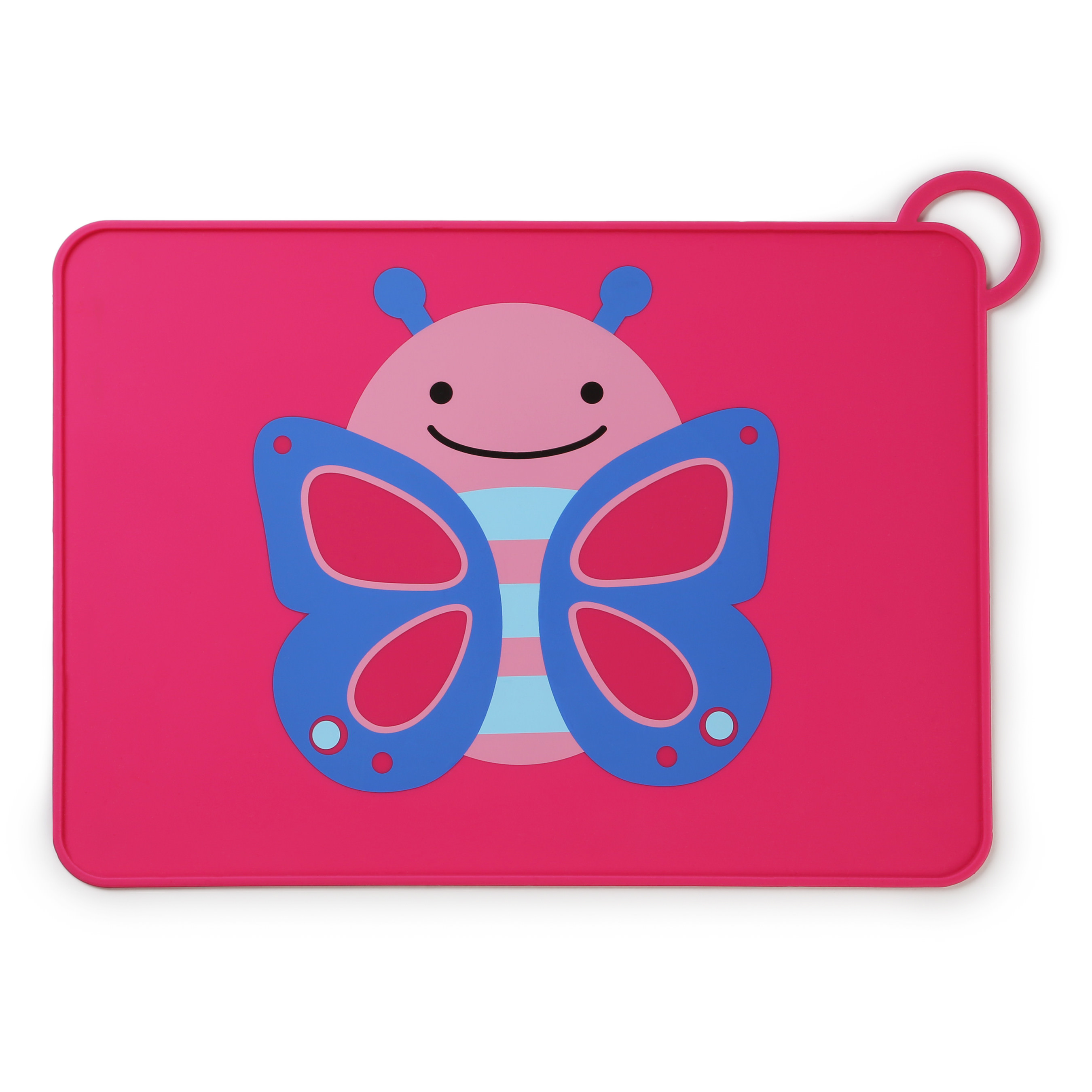 Skip Hop Zoo Fold & Go Silicone Placemat, Butterfly