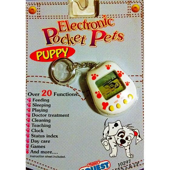 Electronic Pocket Pets Puppy Dog Puppy Electronic Toy Toys Pocket