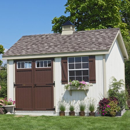 Little Cottage Pinehurst Colonial Panelized Garden Shed with Optional Floor Kit