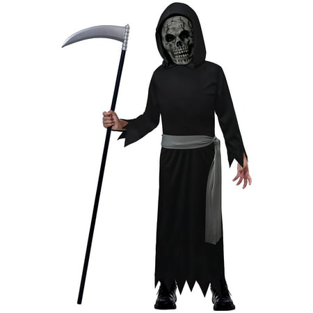 Suit Yourself Death Reaper Halloween Costume for Boys, with Accessories - Easy Do It Yourself Costumes