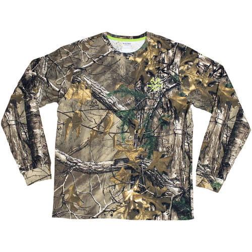 Men's Long Sleeve Camo Tshirt, Max 1XT by Generic