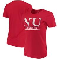 Nebraska Cornhuskers Women's League Freshy T-Shirt - Scarlet