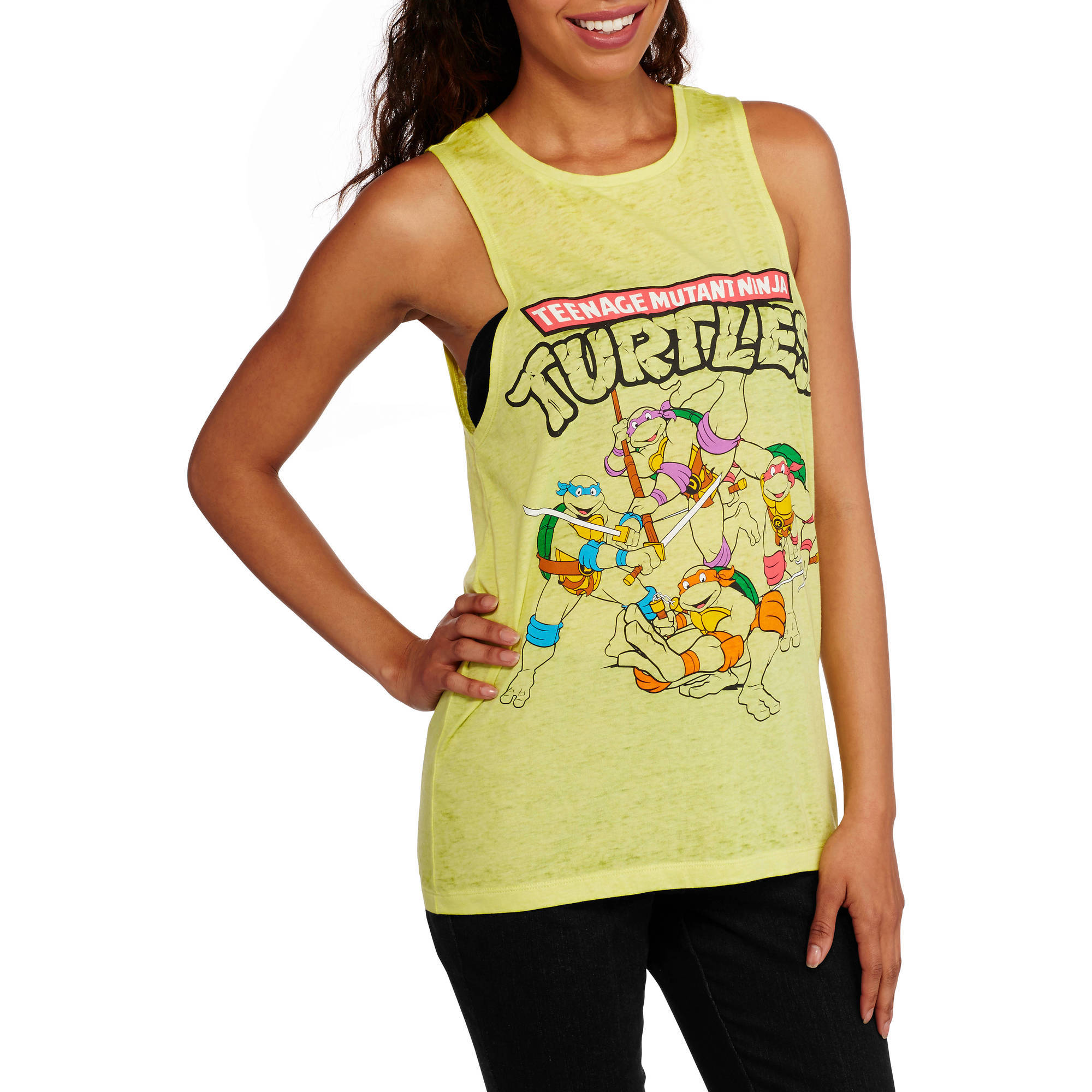 Teenage Mutant Ninja Turtles Juniors Graphic Burnwash Tank