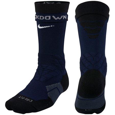714115c314b9 Nike Dri-FIT 2.0 Vapor Elite Crew Football Socks - Navy - S - Walmart.com