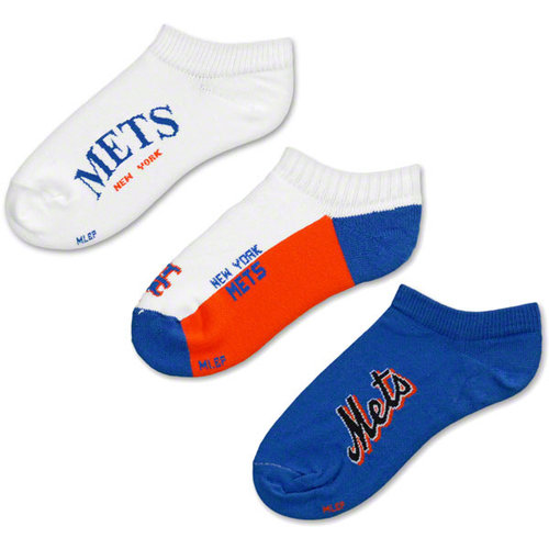 MLB - New York Mets Athletic 3-Pair Sock Pack