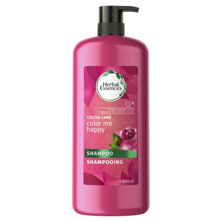 - Herbal Essences Color Me Happy Shampoo for Color-Treated Hair, 33.8 fl oz