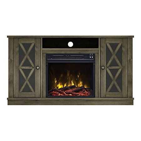 Willis Electric Fireplace Media Console in Spanish Gray - 18MM6092-PI14S ()